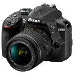 Nikon D3400 Kit 18-55 mm DX Black